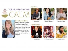 Virtual Event: Women In Conversation at Home: Part 3 Creating your Calm Photo