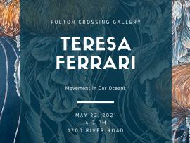 Teresa Ferrari - Opening Art Reception Photo