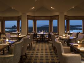Drakes Sonoma Coast—dining room overlooking the coastal sanctuary
