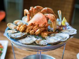 Crab, Oysters, Shrimp at Willi's Seafood & Raw Bar