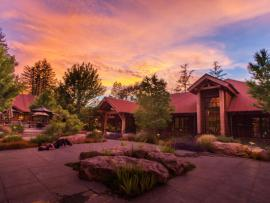 Ratna Ling Retreat Center - The peaceful serenity of Ratna Ling Retreat Center envelopes you in warmth.