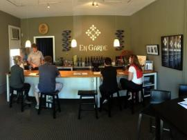 Tasting Lounge at En Garde Winery