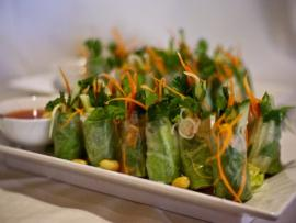 Southeast Fresh Rolls at Eight Cuisine & Wine