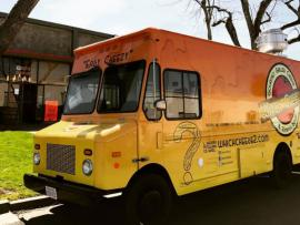 Which Cheese Gourmet Grilled Cheese Food Truck