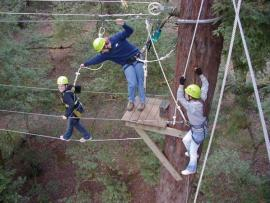 Challenge Sonoma Adventure Ropes Course