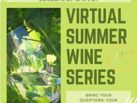Virtual Event: Summer Wine Series with West Wines Photo