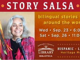Virtual Event: Story Salsa! Live on Zoom for kids & families Photo
