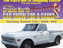 3rd Annual Cruisin' North Car Show for a Cause Photo