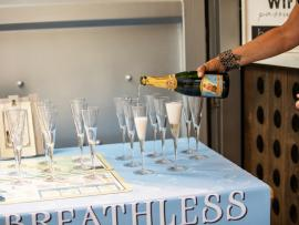 Breathless Friday Bubbly Hour Photo
