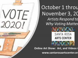 Virtual Event: Vote 2020 Art Exhibit Photo