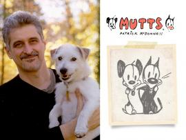 Virtual Event: 25 Years of MUTTS- Patrick McDonnell in Conversation with Tom Gammilll Photo