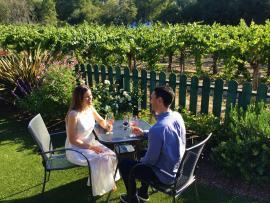 Dutton at Dusk: Evening Wine Hours Photo