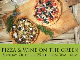 Pizza & Wine on the Green Photo