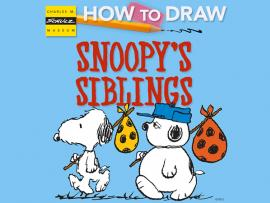 Virtual Event: How to Draw Snoopy's Siblings Photo
