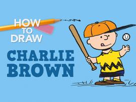 Virtual Event: How to Draw Charlie Brown Photo