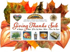 Giving Thanks Sale Photo
