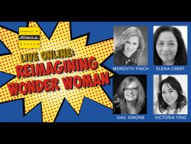 Virtual Event: Reimagining Wonder Woman Panel Discussion Photo
