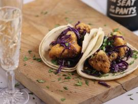Virtual Event: In the Kitchen with Bricoleur - Super Bowl Eats - Crispy Cauliflower Tacos Photo