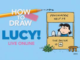Virtual Event: How to Draw Lucy Photo
