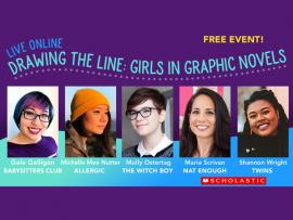 Virtual Event: Drawing the Line: Girls in Graphic Novels Photo