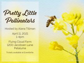 Pretty Little Pollinators Paint Party Photo
