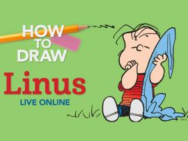 Virtual Event: How to Draw Linus Photo