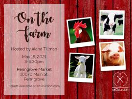 Artxcursion presents On The Farm Paint Party Photo