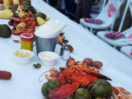 Lobster Feast at Martorana Photo