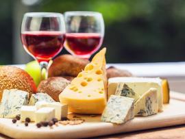 Virtual Event: Vini E Formaggi - Wine and Cheese Photo