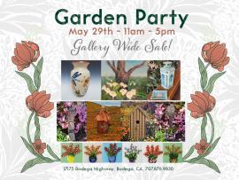 Garden Party Sale Photo