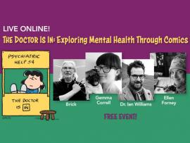 Virtual Event: The Doctor Is In: Exploring Mental Health Through Comics Photo