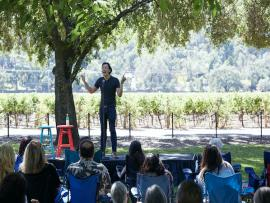 Wine Country Comedy Fest Photo