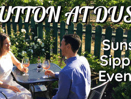 Dutton at Dusk: Sunset Sipping Evening Photo