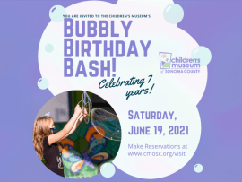 Bubbly Birthday Bash at the Children's Museum Photo