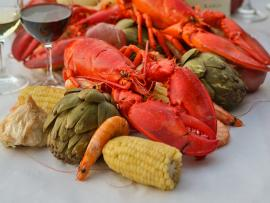 Lobster Feed at Rodney Strong Vineyards Photo