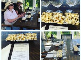 West Wines' 4th of July Weekend Popcorn & Wine Pairing Photo