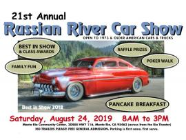 Russian River Car Show Photo