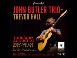 John Butler Trio with Trevor Hall Photo