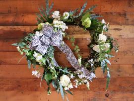 Unique Christmas Wreaths Class Photo