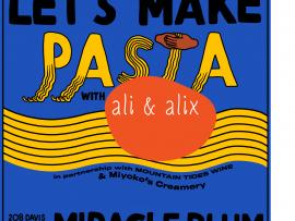 Let's Make Pasta 101: flour + water Photo