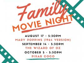 Free Family Movie Nights at the Museum Photo