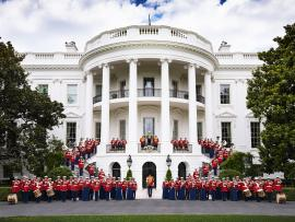 U.S. Marine Band Tour Concert Photo
