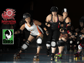 Roller Derby: Resurrection vs Silicon Valley Photo