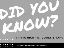 Trivia Night at Corks & Taps Photo