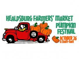 Healdsburg Farmers' Market Pumpkin Festival Photo