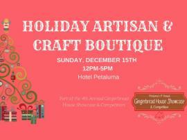 Holiday Artisan Craft Boutique Photo