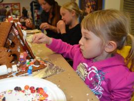 Gingerbread Doghouse Workshops Photo