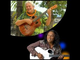 Legends: Keola Beamer and Henry Kapono Photo