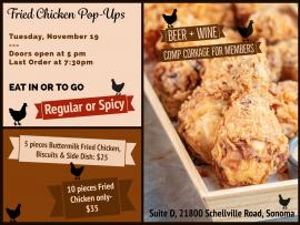 Fried Chicken Pop Up at Suite D Photo