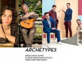ARCHETYPES: Sérgio and Clarice Assad and Third Coast Percussion Photo